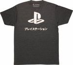 PlayStation Foil Logo T-Shirt Sheer