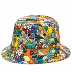 Pokemon All Over Sublimated Bucket Hat