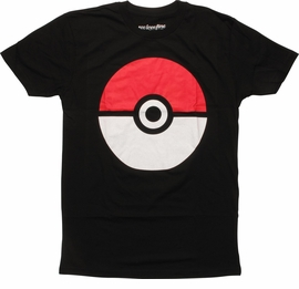 Pokemon Big Poke Ball Mighty Fine T-Shirt