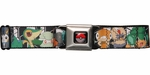 Pokemon Black/White Pokemon Characters Seatbelt Mesh Belt