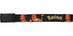 Pokemon Charmander Black Mesh Belt