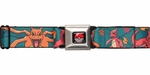Pokemon Charmander Evolution Seatbelt Belt