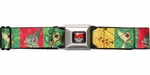 Pokemon Gen 5 Pikachu Squares Seatbelt Belt