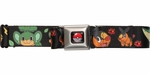 Pokemon Generation 5 Pokemon and Elements Seatbelt Mesh Belt