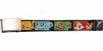 Pokemon Generation 5 Pokemon Squares Mesh Belt