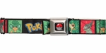 Pokemon Generation 5 Pokemon Squares Seatbelt Mesh Belt