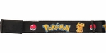 Pokemon Name Pikachu and Pokeball Mesh Belt