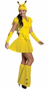 Pokemon Pikachu Dress Adult Costume