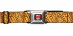 Pokemon Pikachu Lightning Bolts Seatbelt Mesh Belt