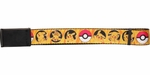 Pokemon Pikachu Pokeball Mesh Belt