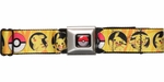 Pokemon Pikachu Pokeball Seatbelt Belt