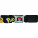 Pokemon Pikachu Seatbelt Mesh Belt