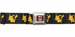 Pokemon Pikachu Silhouettes Seatbelt Belt