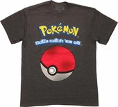 Pokemon Pokeball Catch All T-Shirt