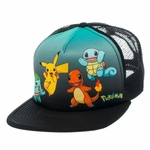 Pokemon Starter Group Sublimated Trucker Hat