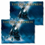Polar Express Poster Pillow Case
