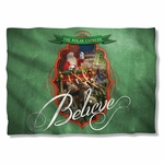 Polar Express Santa Pillow Case