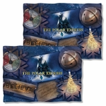 Polar Express Scene Shapes FB Pillow Case
