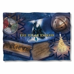 Polar Express Scene Shapes Pillow Case