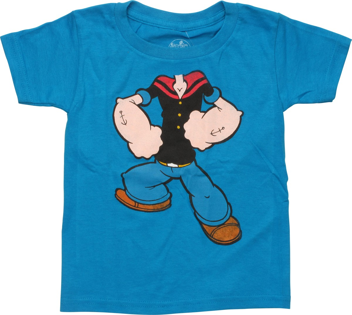 popeye body toddler t shirt. Black Bedroom Furniture Sets. Home Design Ideas