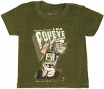 Popeye Bottleship Infant T-Shirt