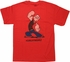 Popeye Curls Girls T Shirt