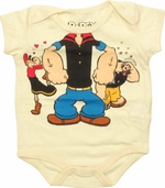 Popeye Dress Up Trio Snap Suit