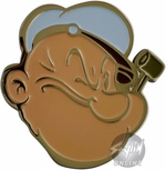 Popeye Face Belt Buckle