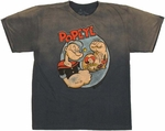 Popeye Flex Youth T Shirt