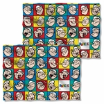 Popeye Many Moods FB Pillow Case