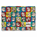Popeye Many Moods Pillow Case