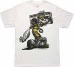 Popeye Shoulder Boom Box T Shirt