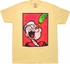 Popeye Spinach Ball T Shirt Sheer