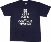 Portal 2 Keep Calm T Shirt