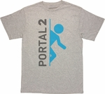 Portal 2 Logo T Shirt Sheer