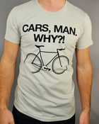 Portlandia Cars Man T Shirt Sheer