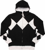 Power Rangers Black Costume Hoodie