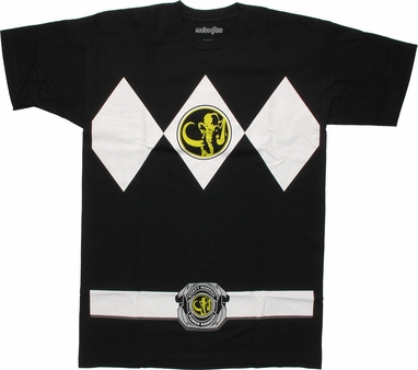Power Rangers Black T-Shirt