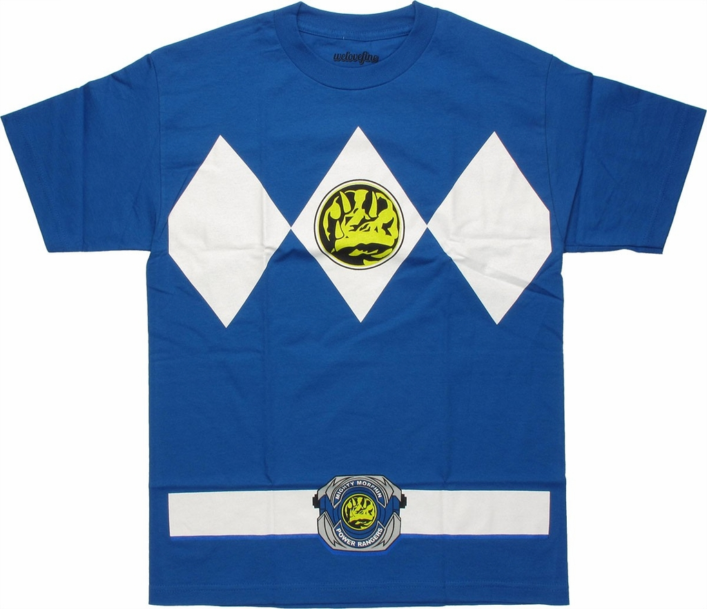 Power Rangers Blue T-Shirt