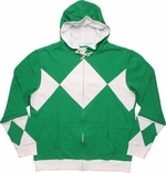 Power Rangers Green Costume Hoodie