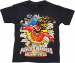 Power Rangers Megaforce Burst Youth T Shirt