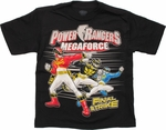 Power Rangers Megaforce Final Strike Juvenile T Shirt