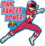 Power Rangers Pink Ranger Power Magnet