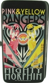 Power Rangers Pink & Yellow Rangers Clutch Wallet