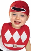 Power Rangers Red Ranger Bib Hat Infant Costume