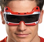 Power Rangers Red Ranger Costume Glasses
