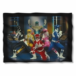 Power Rangers Stance Pillow Case