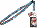 Power Rangers Toy Group Charm Lanyard