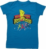 Power Rangers Under Logo Baby Tee