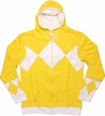 Power Rangers Yellow Costume Hoodie